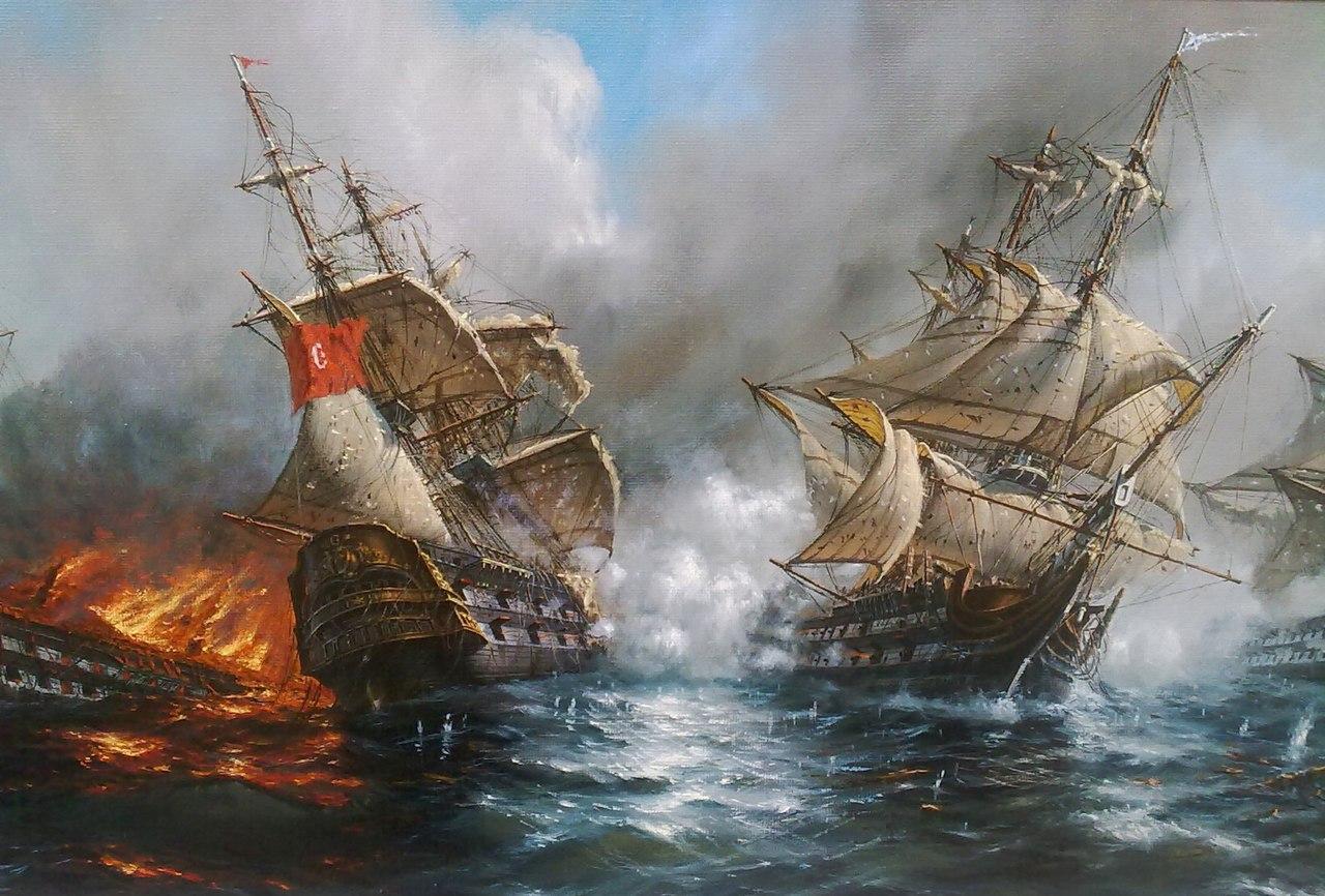 корабли адмирала ушакова картинки рискнувшие перекрасить