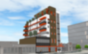 547 George Street - Southeast Perspectiv
