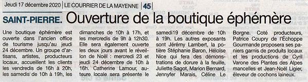 20-12-17 Courrier de la Mayenne