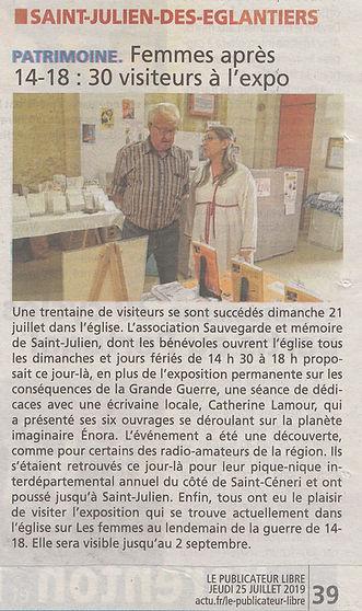 19-07-25 Le Publicateur Libre.jpg