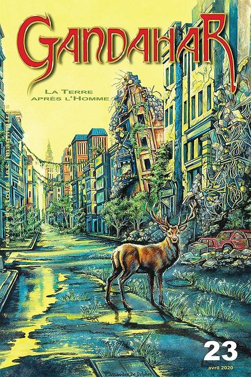 Gandahar n° 23 : La Terre après l'homme