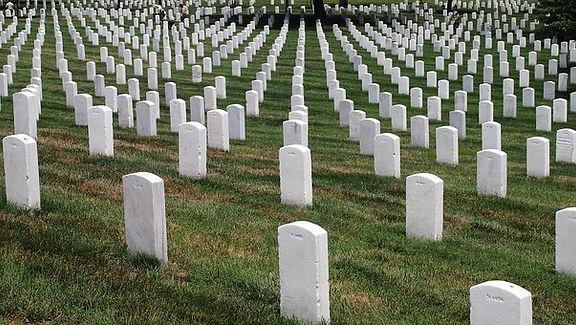 Un cimetière militaire