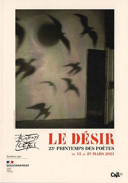 Couverture Recueil de poésies sur le désir