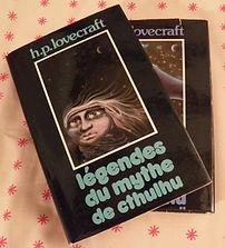 """Couverture de """"Légendes du mythe de Cthulu"""" de H.P. Lovecraft"""