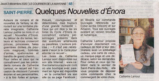 20-12-03 Le Courrier de la Mayenne