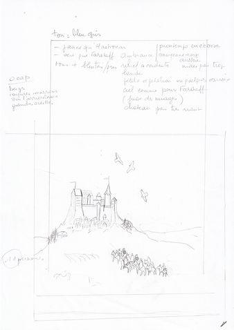 Crayonné de Gwendir pour le tome 2