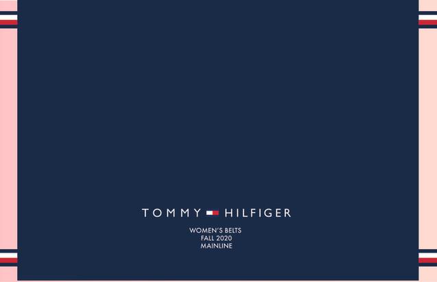 Tommy Hilfiger Cover- Women's Belts