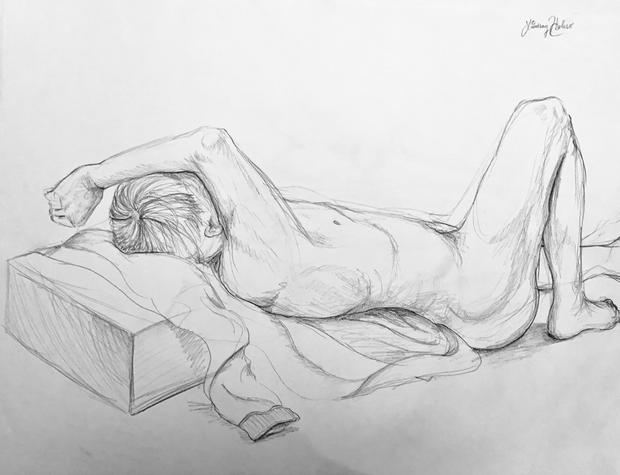 Figure Drawing, Pencil