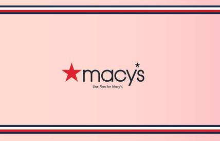 Macy's Line Plan