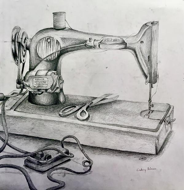 Still Life Drawing, Pencil