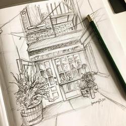 Soft Pencil Drawing