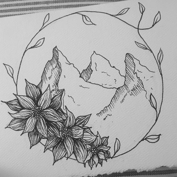 Ink, Sketchbook Work