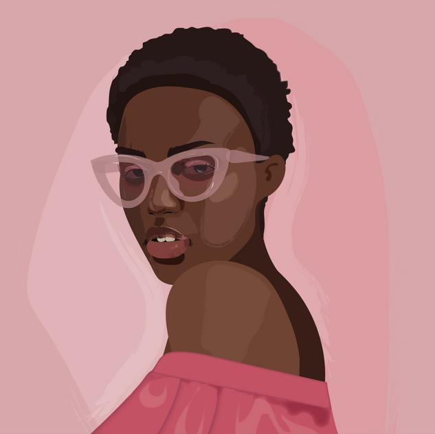 Portrait, Adobe Illustrator