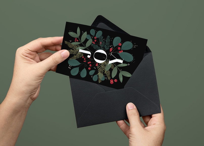 JOY Holiday Card