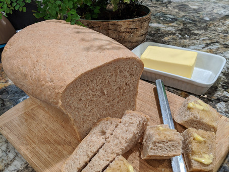 Bread, glorious home-baked, fresh Bread...