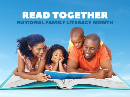 Managing Screen Time This National Family Literacy Month