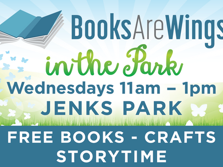 Books Are Wings in the Park