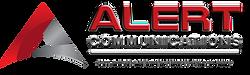 Alert Communications - Red - Horizontal