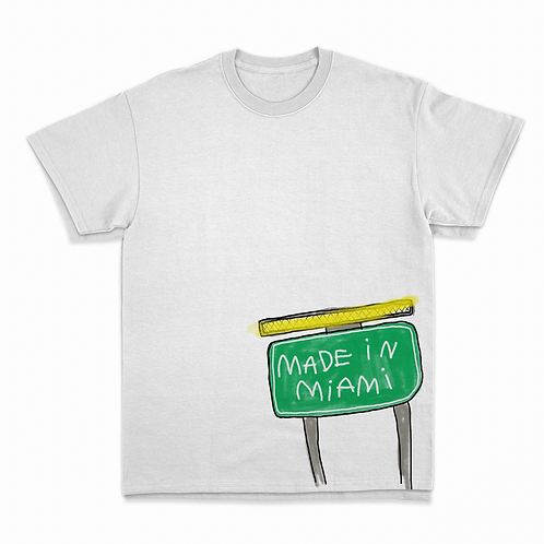 Made in Miami t-shirt