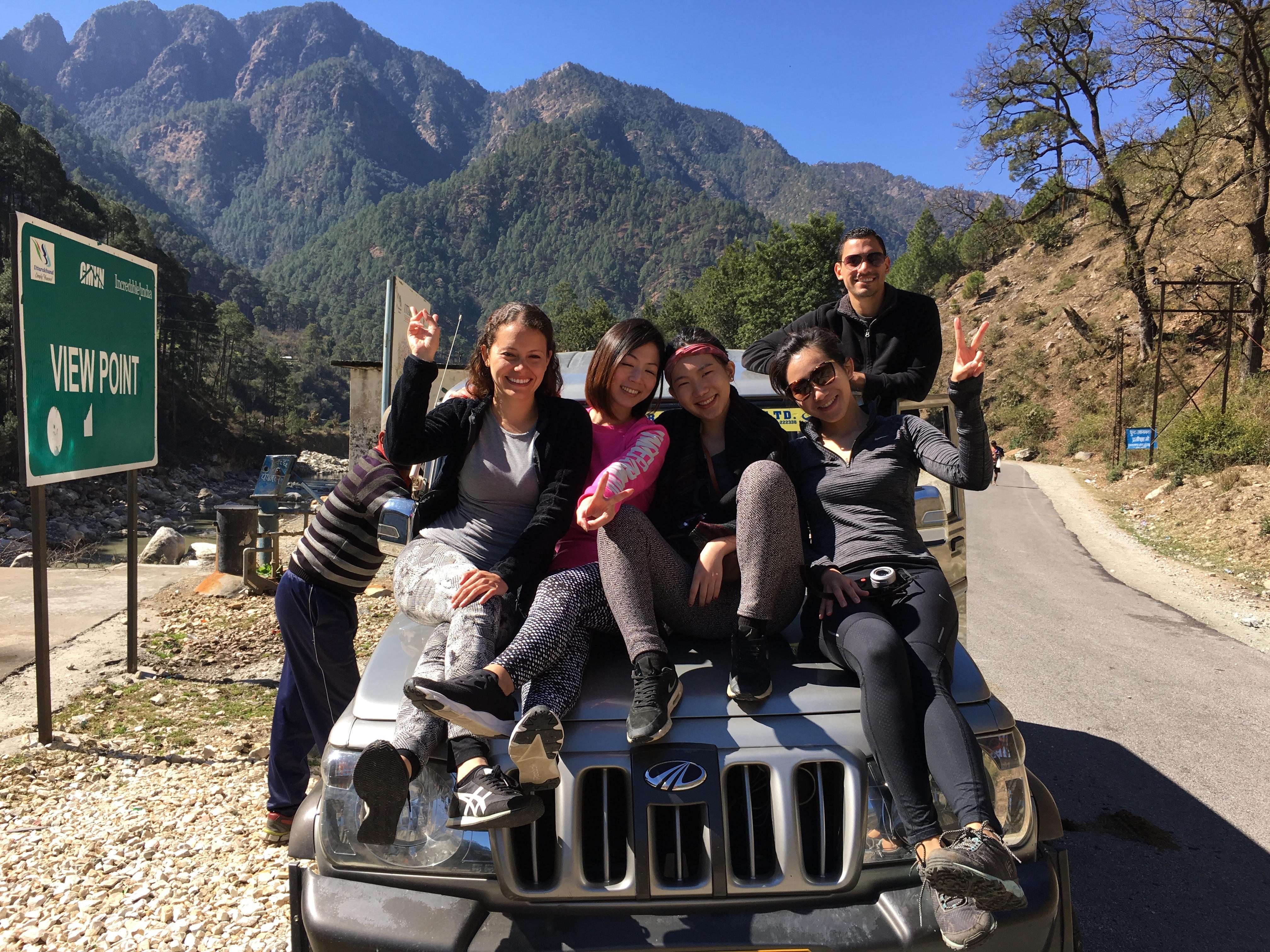 Enjoying Our Ride
