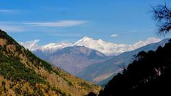 Snow Clad Mountains