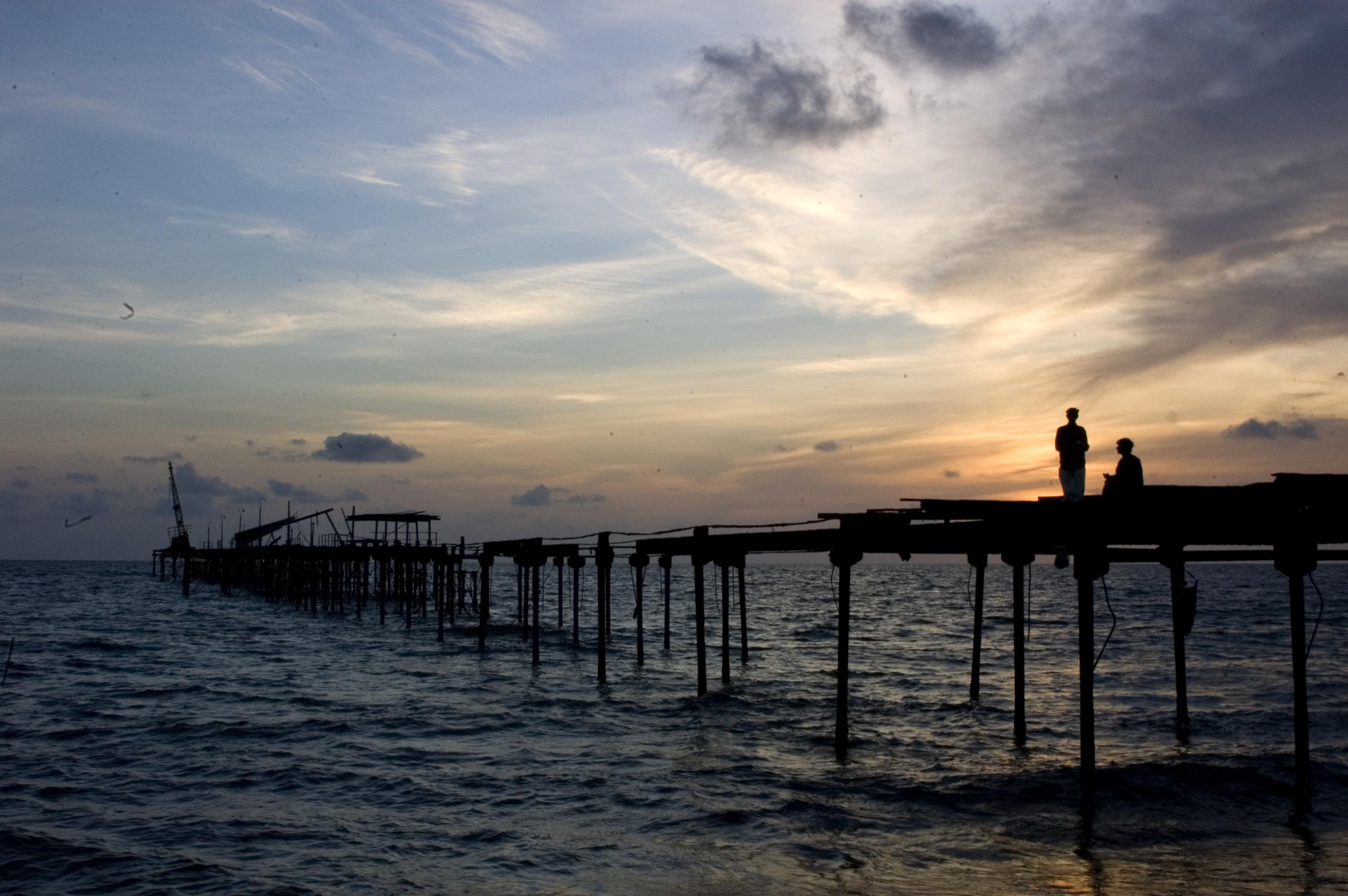 Alappuzha Beach Pier