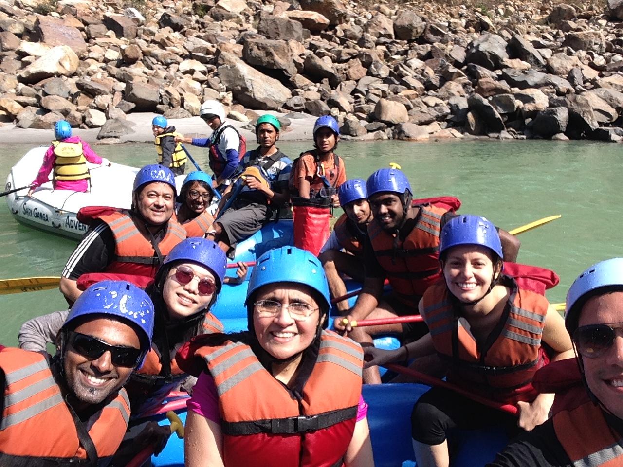 River Water Rafting, Rishikesh