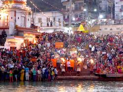 Ganga Aarthi, Haridwar