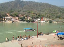 Boat cruise in Rishikesh
