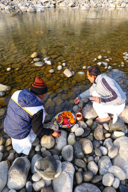 Prayers to River Ganges