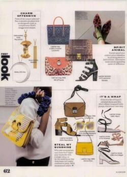 Falke Socks Elle Magazine July 2016