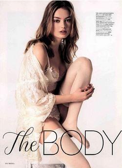 Falke Hold Ups Brides Magazine May 2016