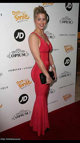 Honor Gold Gemma Atkinson May 2015