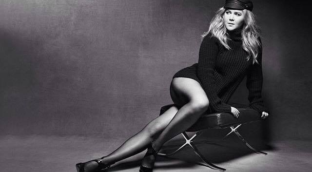 Falke Tights Amy Schumer Marie Claire August 2016