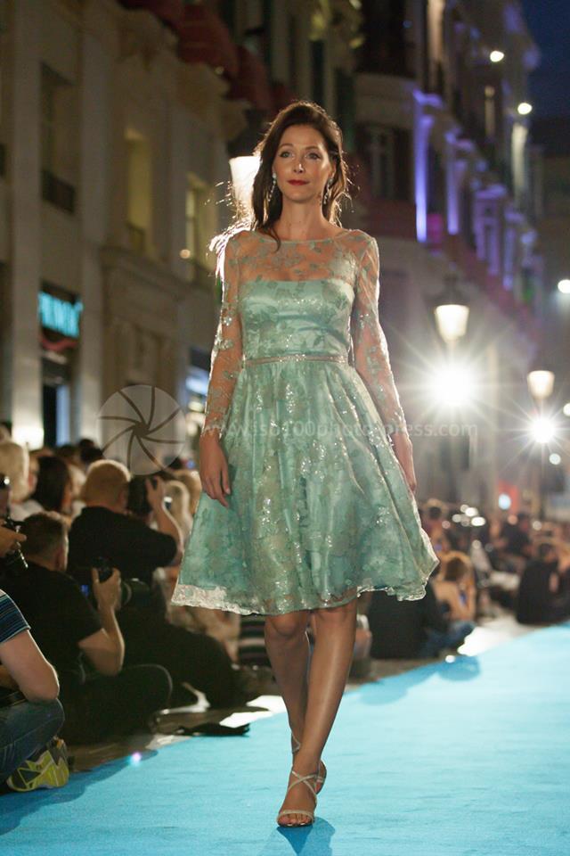 Sonia Pena Couture Pasarela Larios Fashion Week.