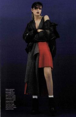 Falke Socks Glamour Magazine September 2016.