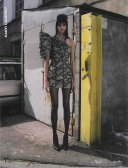 Falke Dot Tights Elle Magazine August 2016