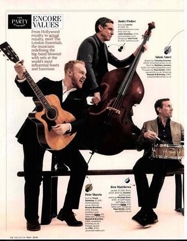 Falke Socks GQ Magazine May 2016