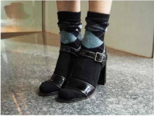 Burlington Argyl Socks InStyle 15.4.16