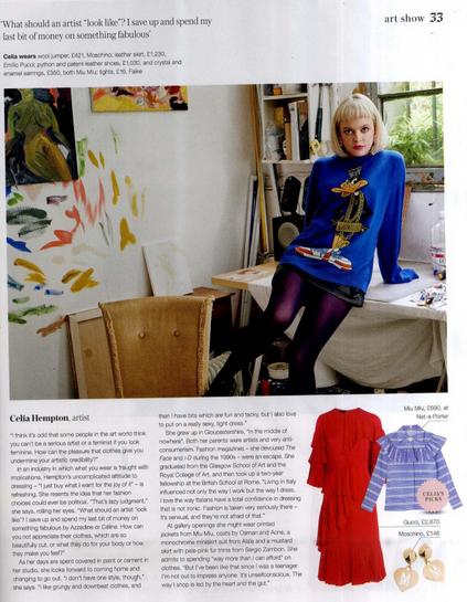 Falke TIghts Sunday Telegraph Fashion 13th Sept 2015