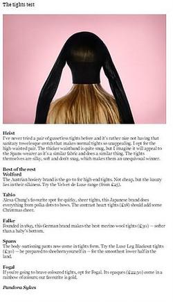 Falke The Sunday Times Style Magazine 06.12.15