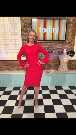 Diva Appleford Dress Orla Diffily Today Show 25.10.16
