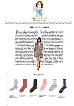 Falke Dot Ankle Socks Stella Magazine 26.3.16