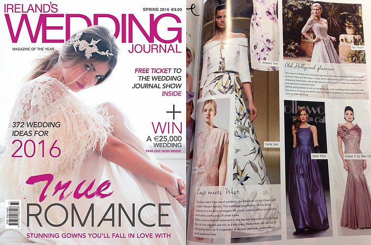 Sonia Pena Ireland's Wedding Journal Spring 2016