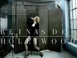 Falke Net Tights Vanity Fair Italia April 2016