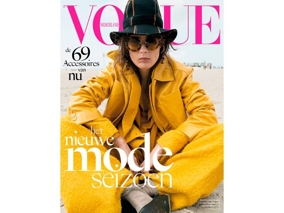 Falke Vogue Netherlands September 2016