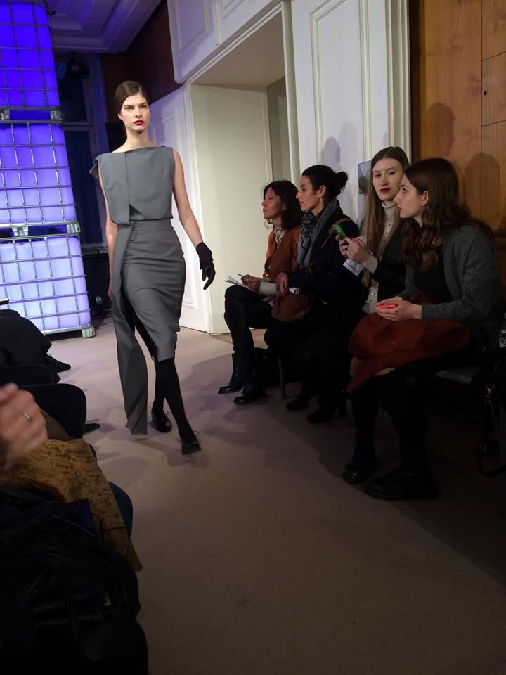 Falke Pure Shine 40 Isabell De Hillerin Berlin Fashion Week AW16