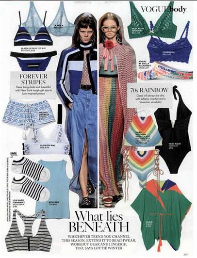 Falke Socks Vogue May 2016