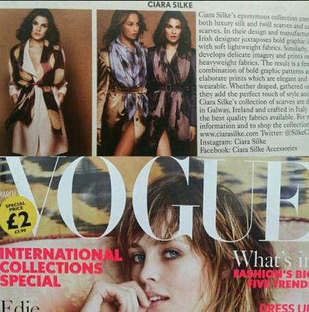 Ciara Silke British Vogue February 2016