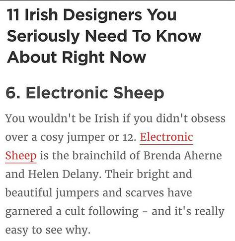 Electronic Sheep Lovin Dublin May 2016